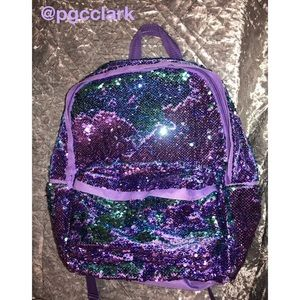 Handbags - Reversible Sequin Backpack